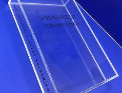 Коробка для фотографий из оргстекла