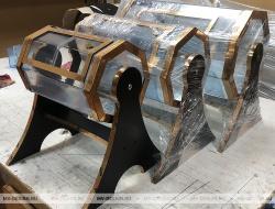 Три лототрона размер Барабана 300х210 мм, 400х240 мм, 500х300 мм