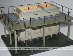 Архитектурный макет технологической линии