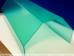 Защитный кожух из оргстекла 3 мм для технологической линии