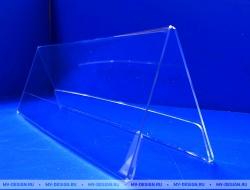 - Подставка информационная из оргстекла 1,5 мм