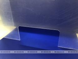 Купить Защитный экран из оргстекла от коронавируса в Москве. Изготовление на заказ