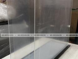 Колпак из оргстекла 4 мм. Размер 870 х 290 h- 780 мм