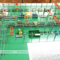Архитектурный макет ДСКа