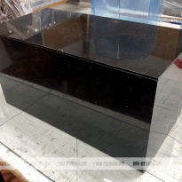 Коробка из черного оргстекла 3 мм
