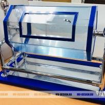 Лототрон синий на металлических стойках
