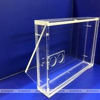 Коробка из оргстекла 5 и 10 мм с фрезеровкой