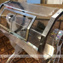 Лототрон «Серебряный Металлик» двенадцать  граней Производство и продажа лототрона в Москве