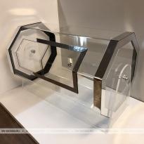 Лототрон «Серебряный Металлик» восемь граней Производство и продажа лототрона в Москве