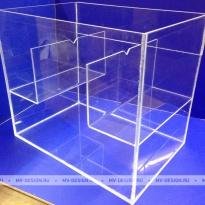 Ящик из оргстекла для испытаний прибора