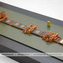 Выставочный архитектурный макет. Заказать макет в Москве