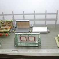 Изготовление архитектурных макетов зданий