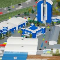Заказать архитектурный макет зданий