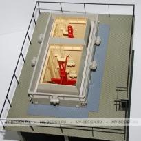 Архитектурный макет здания