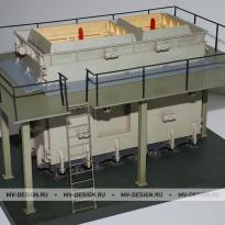 Архитектурный макет здания. Изготовление по низкой цене